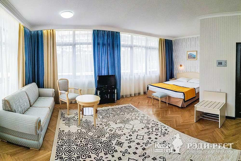 Cанаторно-курортный комплекс Сосновая роща Studio, корпус 2