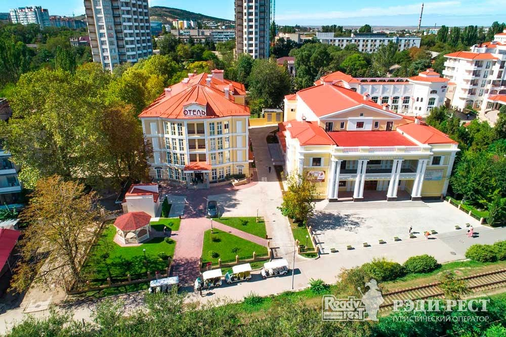 Отель Грей Инн 3*. Восточный Крым