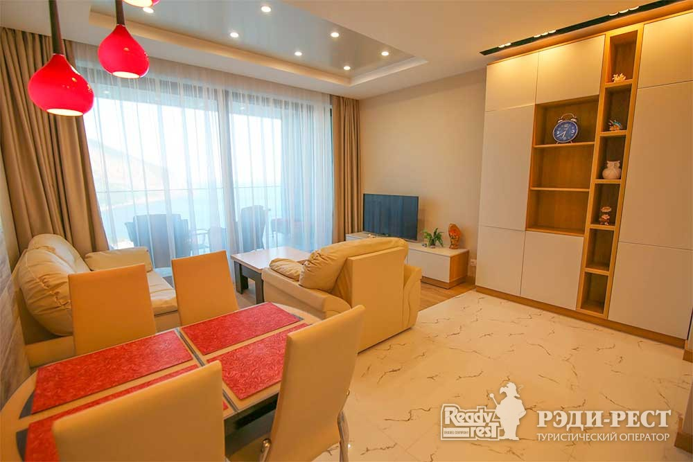 Апарт-отель Гурзуф Ривьера Апартамент с одной спальней<br><br>(601,606,504,508,910)
