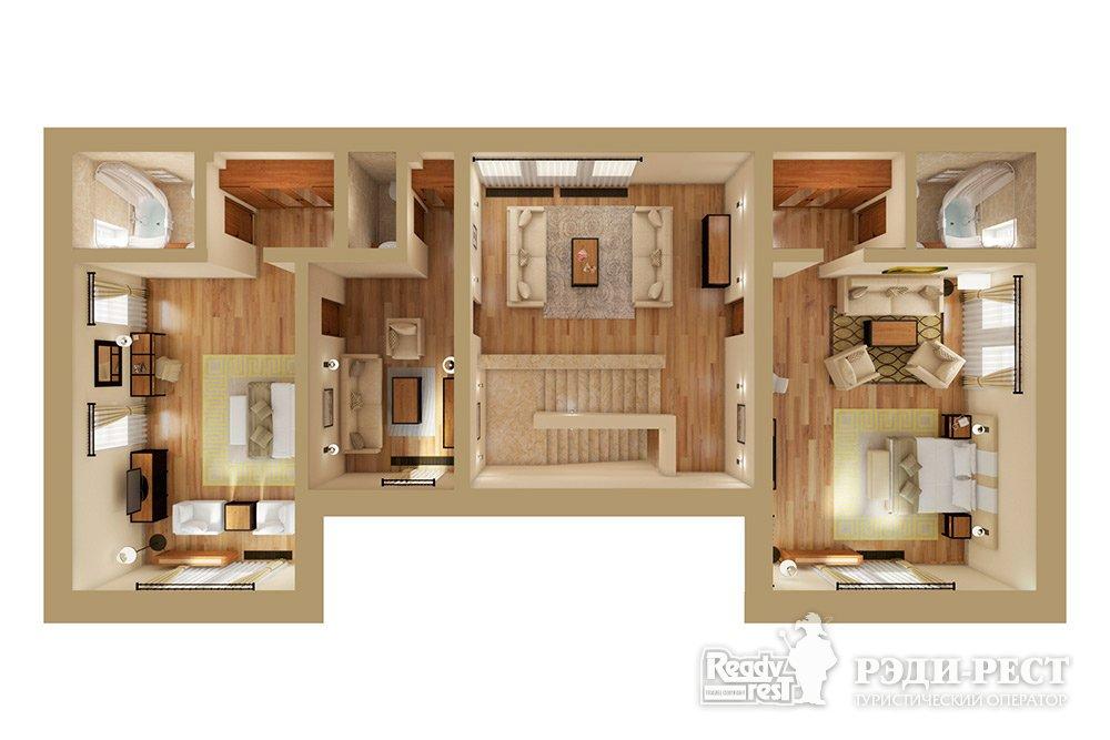 Апарт-отель Крымский Бриз 5* Семейный люкс