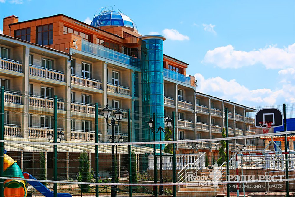 Спа-отель Рибера Резорт 4+*. Западный Крым