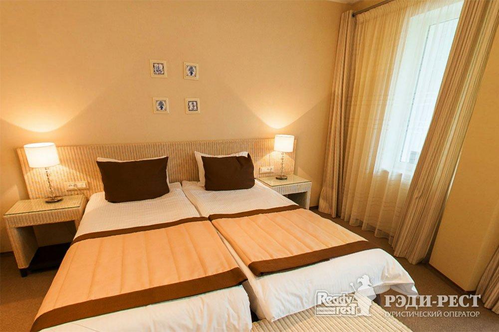Спа-отель Приморский парк 4*. Полулюкс, корпус Отель
