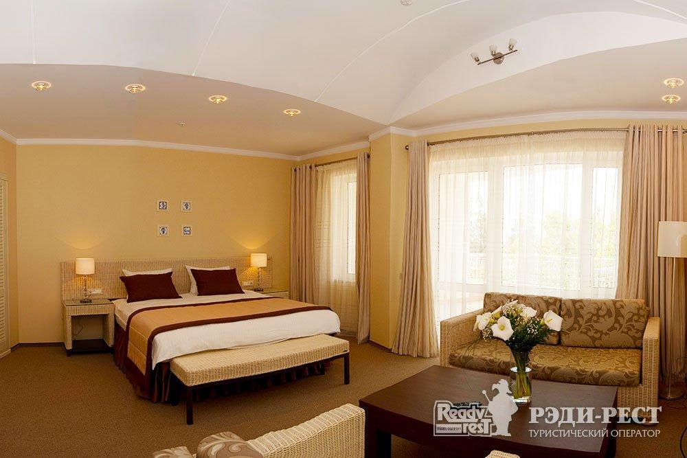 Спа-отель Приморский парк 4* Полулюкс, корпус Отель