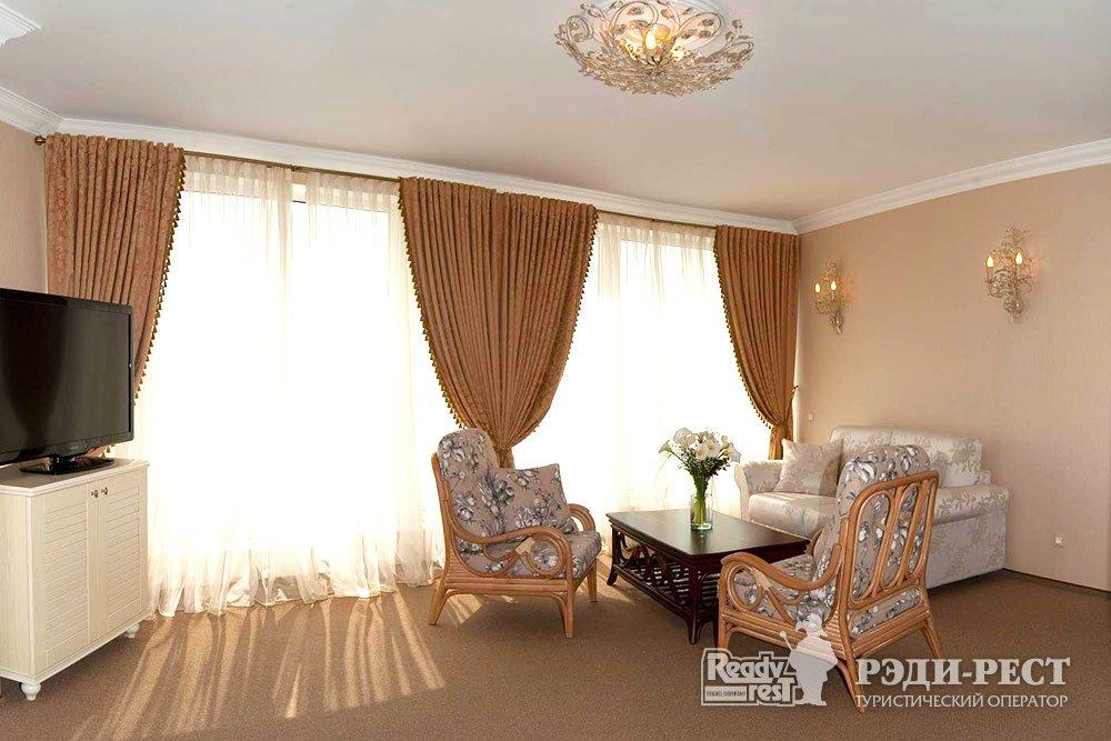 Спа-отель Приморский парк 4* Студио, корпус Отель