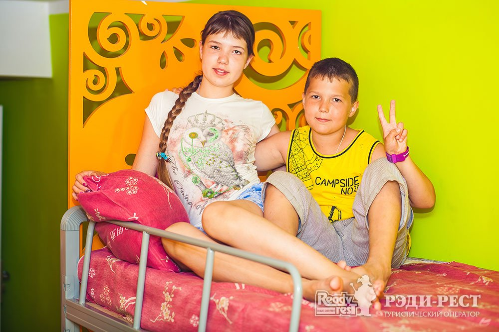 Детский Оздоровительный Лагерь Мандарин 6-местный номер с удобствами