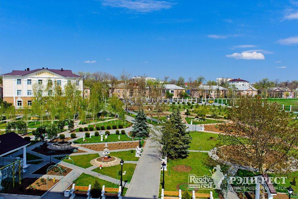 Cанаторий Сакрополь. Западный Крым
