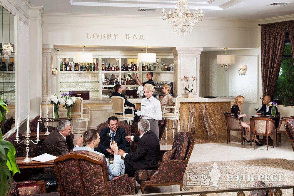 Отель и резиденции Вилла Елена 5*. Большая Ялта Лобби бар