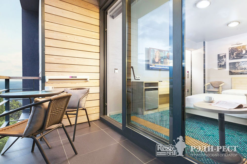 Отель Грин Парк Стандарт улучшенный с 2 кроватями