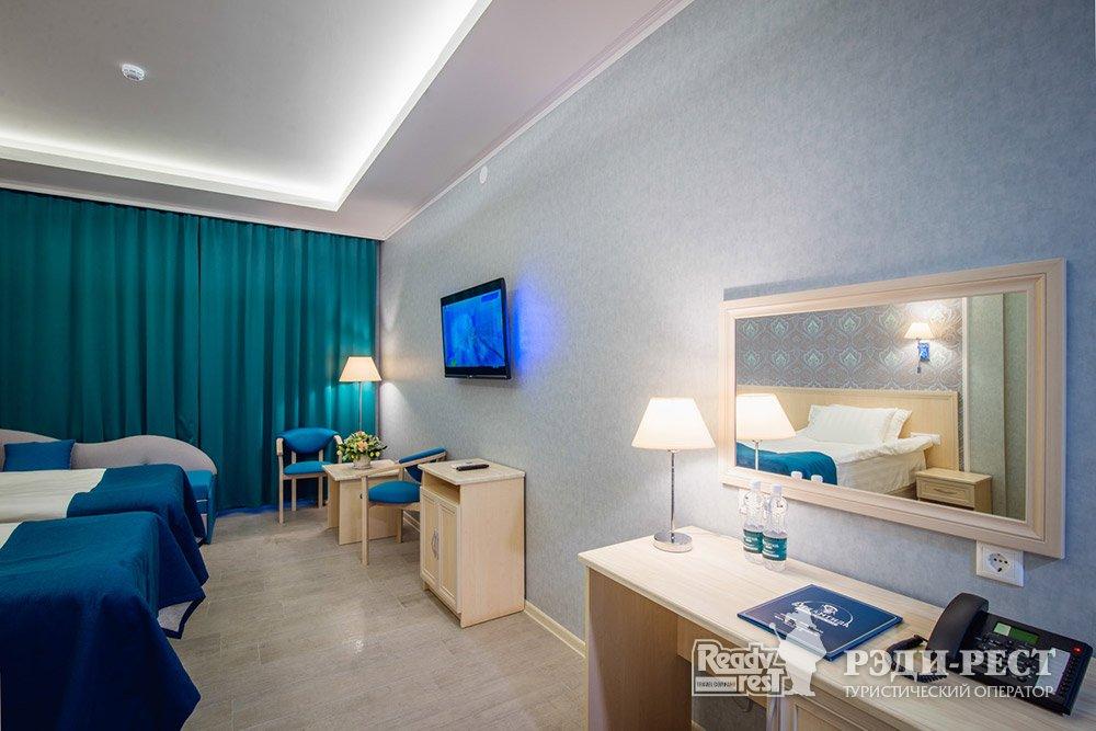 Аквапарк-отель Атлантида Стандарт, вид на аквапарк