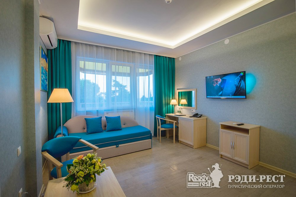 Аквапарк-отель Атлантида Люкс, вид на море