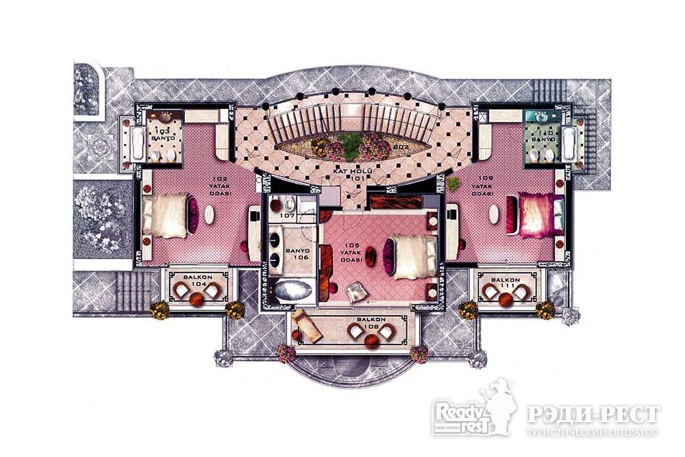 Курортный отель Море Вилла 10