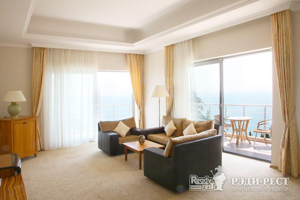 Курортный отель Море Люкс с 2 спальнями