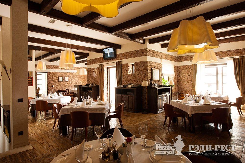 Апарт-отель Крымский Бриз 5*. Большая Ялта Ресторан Piazzetta