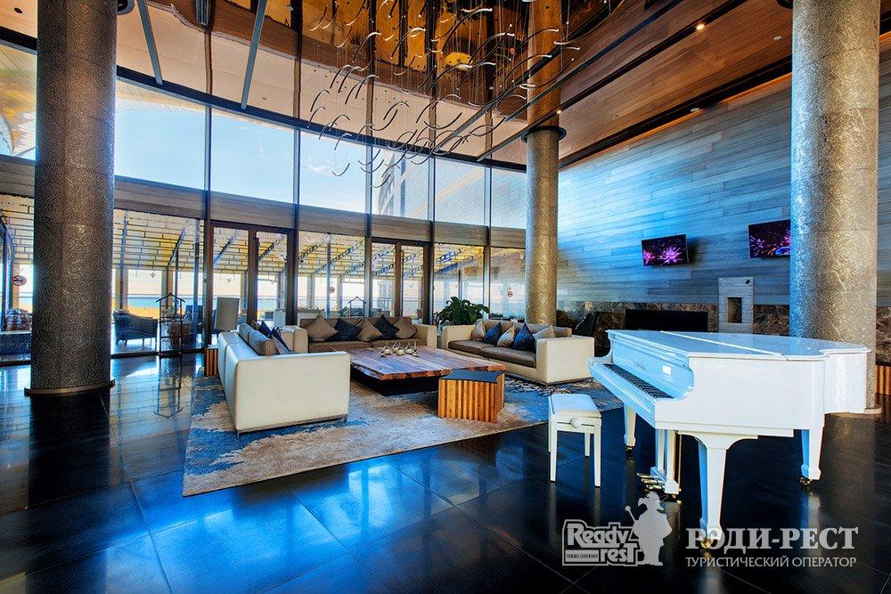 Cанаторно-курортный комплекс Мрия Резорт & СПА 5*. Большая Ялта Лобби на 3-м этаже