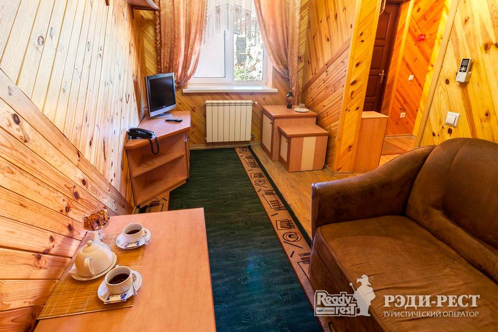Гостиница Омега-Клуб Стандарт 2-комнатный, коттедж