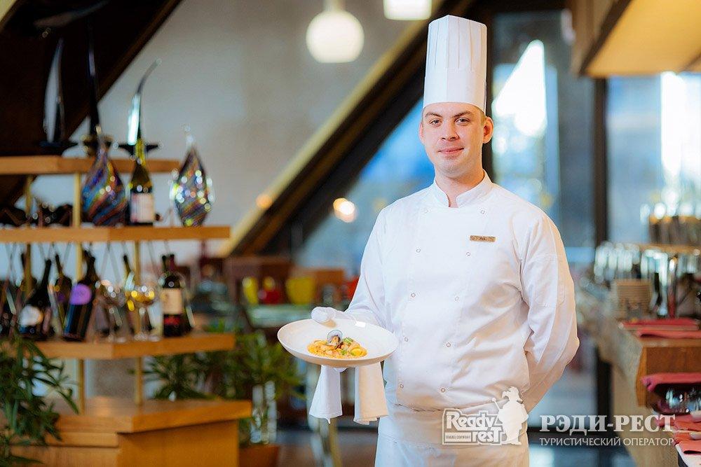 Cанаторно-курортный комплекс Мрия Резорт & СПА 5*. Большая Ялта Ресторан Оливо. Итальянская кухня