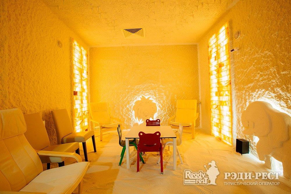 Cанаторно-курортный комплекс Мрия Резорт & СПА 5*. Большая Ялта Соляная пещера детская