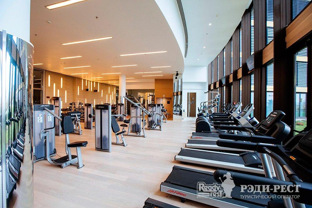 Cанаторно-курортный комплекс Мрия Резорт & СПА 5*. Большая Ялта Фитнесс центр