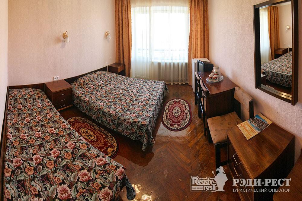 Туристско-оздоровительный комплекс Евпатория. 1-комнатный 3-местный с кондиционером