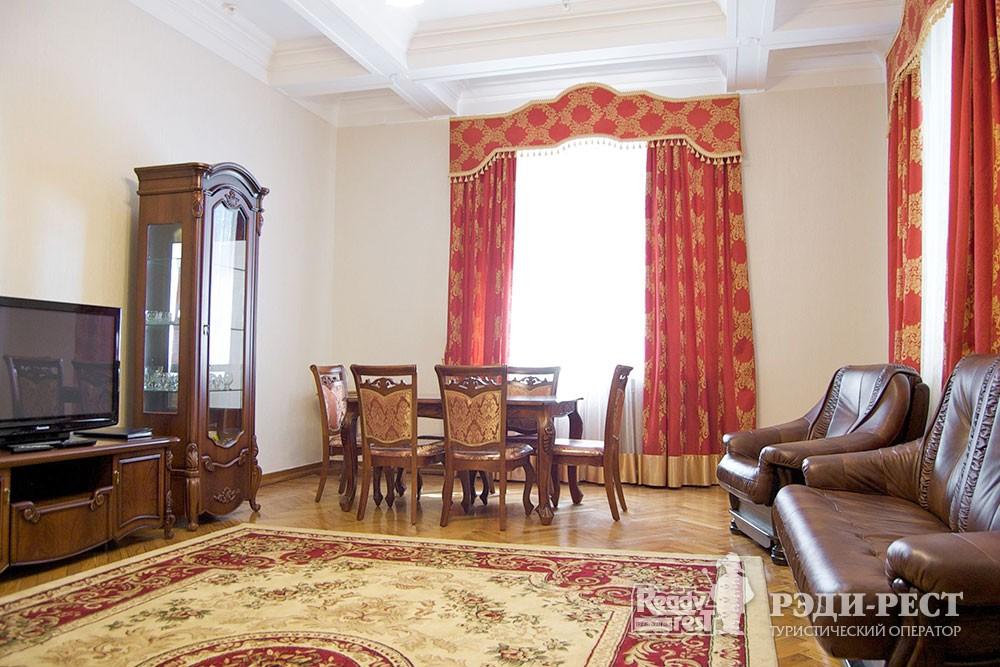 Cанаторно-курортный комплекс Руссия Люкс VIP 2-комнатный, корпус 1