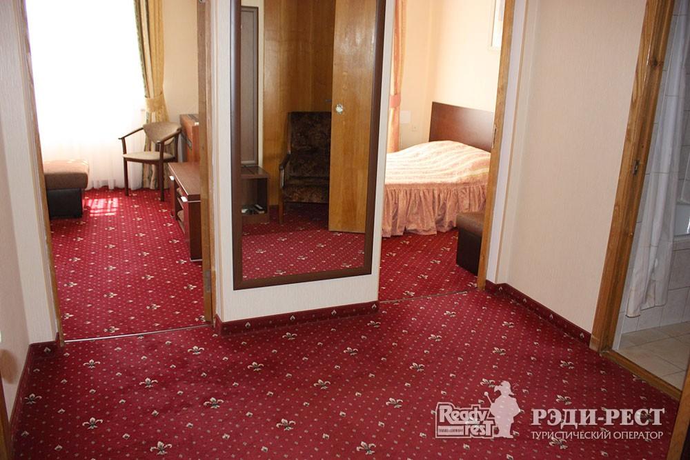 Cанаторно-курортный комплекс Руссия 2-комнатный 2-местный, корпус 1