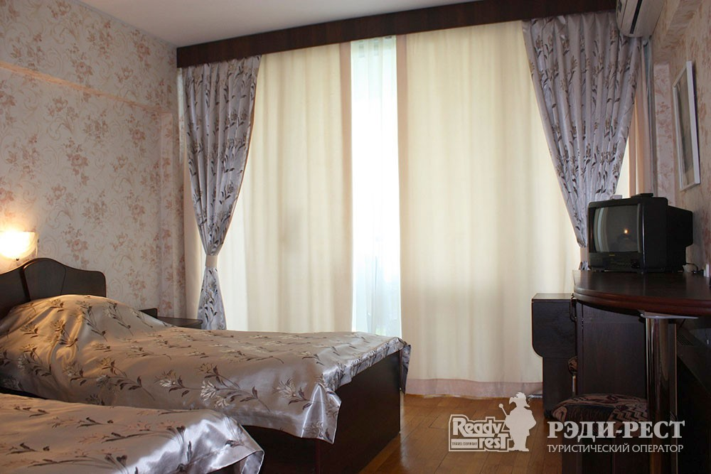Cанаторно-курортный комплекс Руссия. 2-местный стандарт, корпус 2