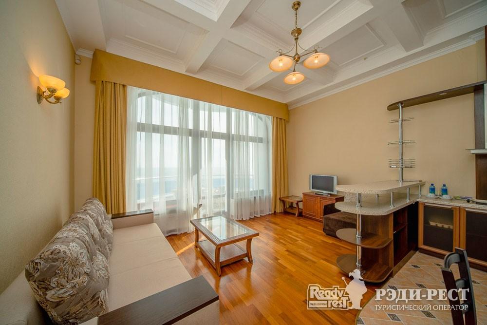 Спа-отель Приморский парк 4*. Апартаменты, корпус СПА-центр