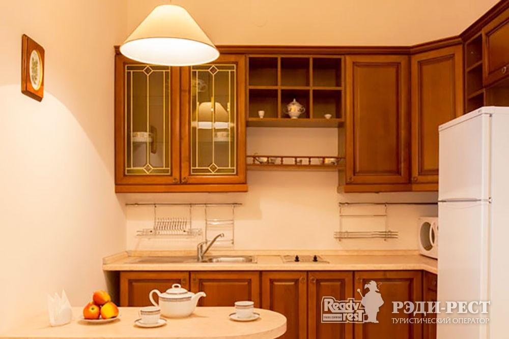 Cанаторий Меллас Трехкомнатные апартаменты с кухней