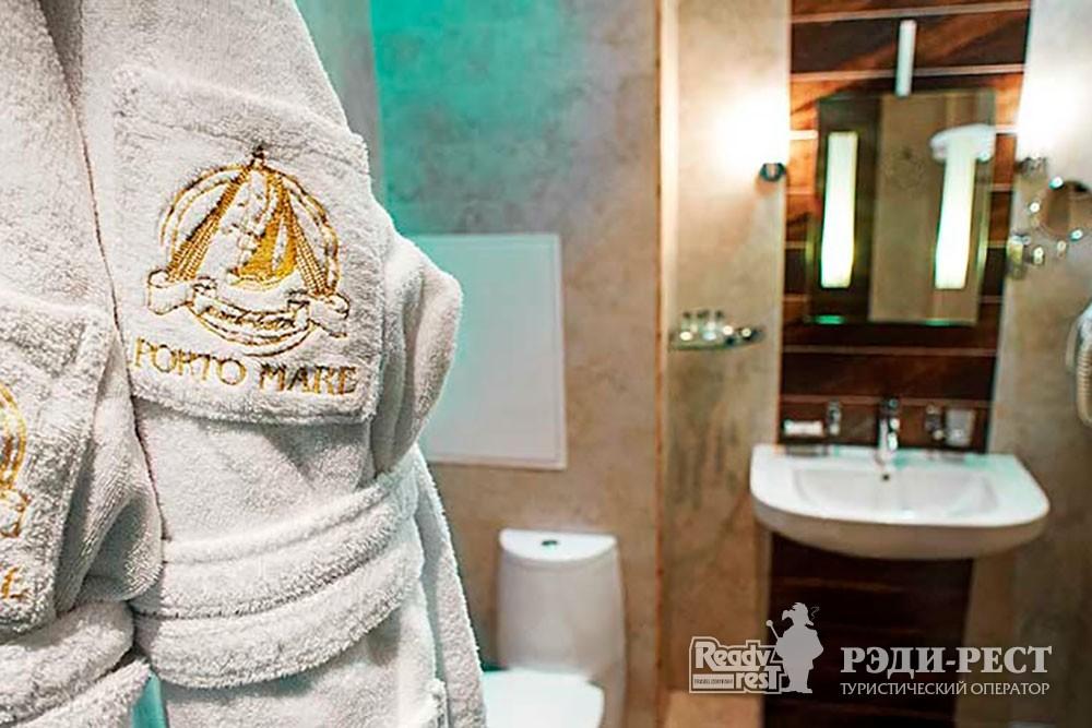 Отель Порто Маре (Porto Mare) Апартамент Люкс 2-комнатный