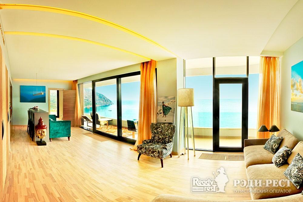 Апарт-отель Резиденции Алтея Апартамент панорамный