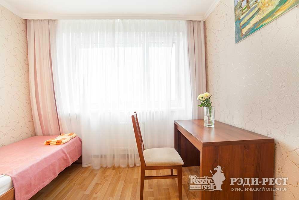 Парк-отель Песочная Бухта Двухкомнатный 3-местный, корпус Антей