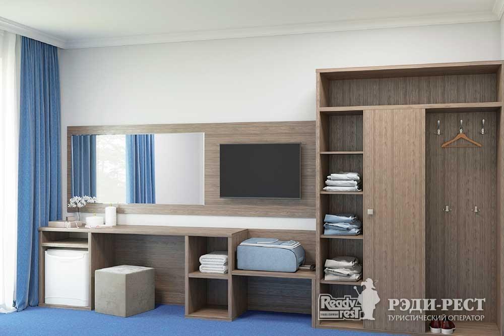 Парк-отель Песочная Бухта Двухместный стандарт, корпус Одиссей