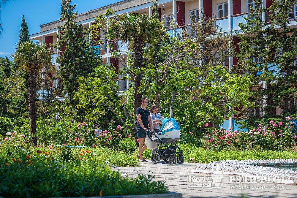 Cанаторно-курортный комплекс Форос. Большая Ялта